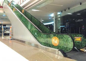glass-self-adhesive-shopping-signage-escalator-enex