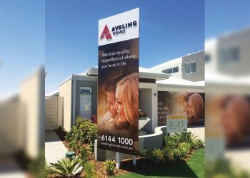 signage-display-acrylicletters-avelinghomes-discus-perth
