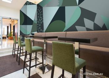 DDS121_Felici_Fern_wall graphic perth interiors