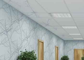 DDS_Venation_cadete printed ceiling tiles
