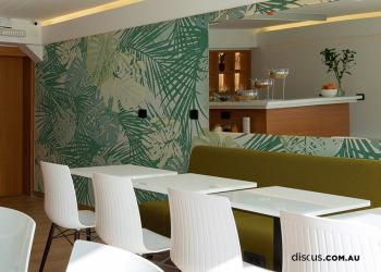 DDS329_Tropycal_Greener_2 hospitality wall decal perth