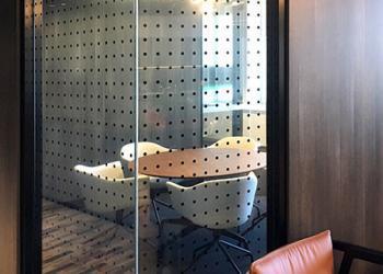 meeting room window film