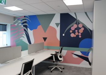 corporate office wall interiors