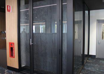 hollywood private hospital endoscopy suite window glaze