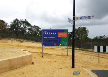billboard sign perth