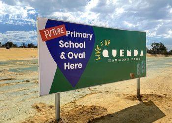 development billboard perth
