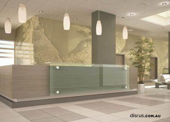 foyer reception graphics fitout perth Beachbreak Sand_mockup