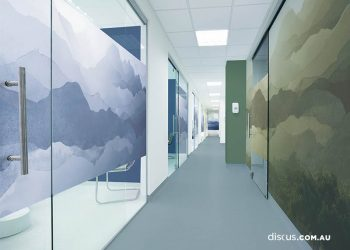 office window graphics perth Peppermintree_Azure and Natui_mockup